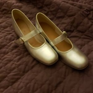 Silver  Promenaders  Dance shoes